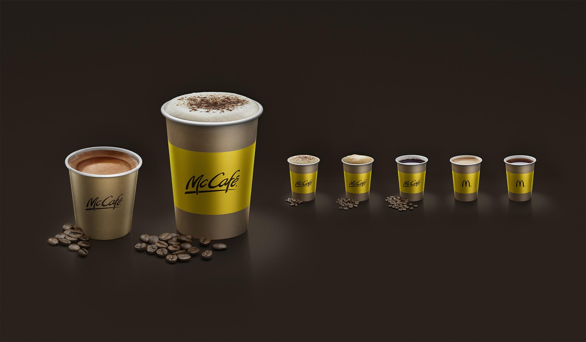 McDonalds Cafe Brown