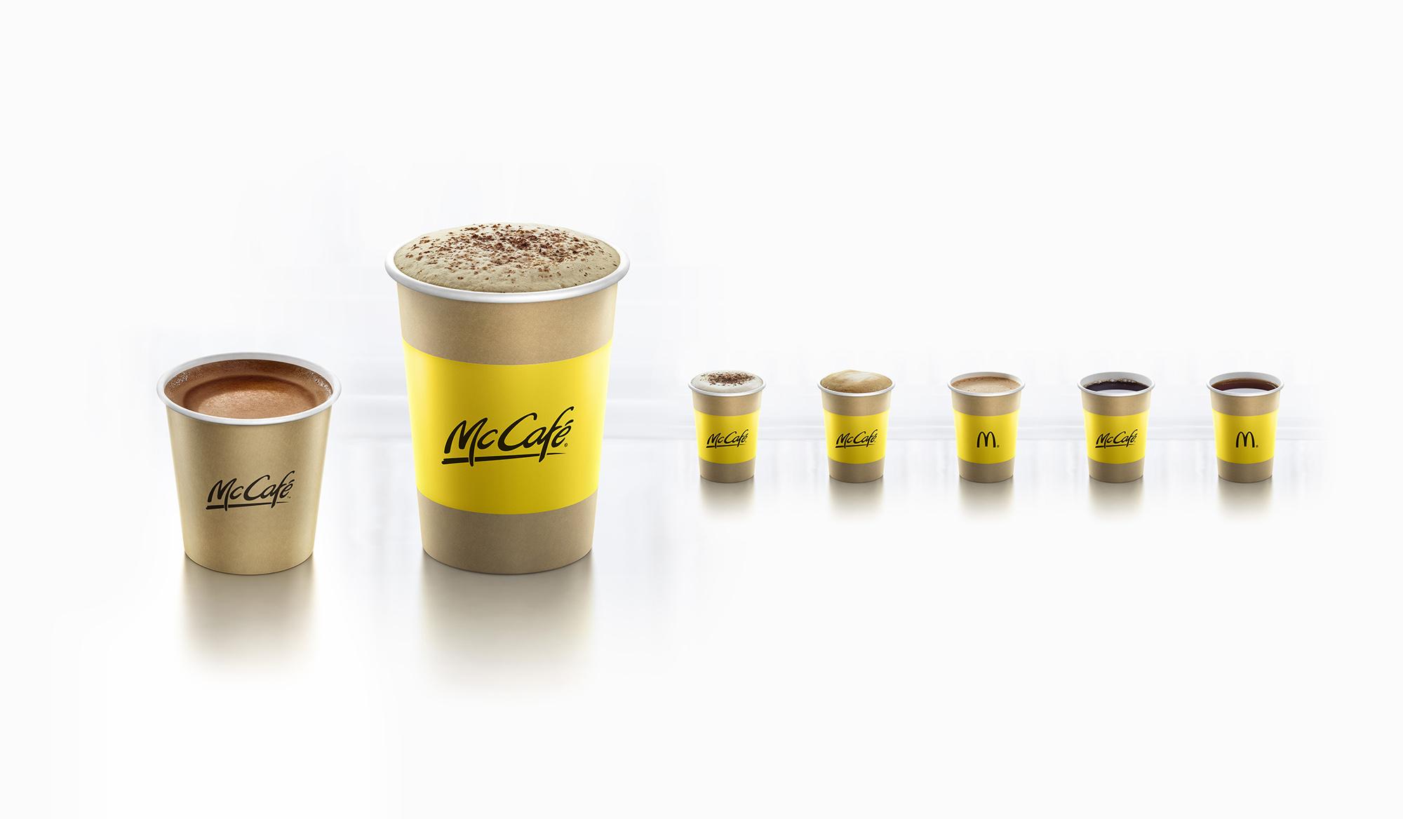 McDonalds Cafe White