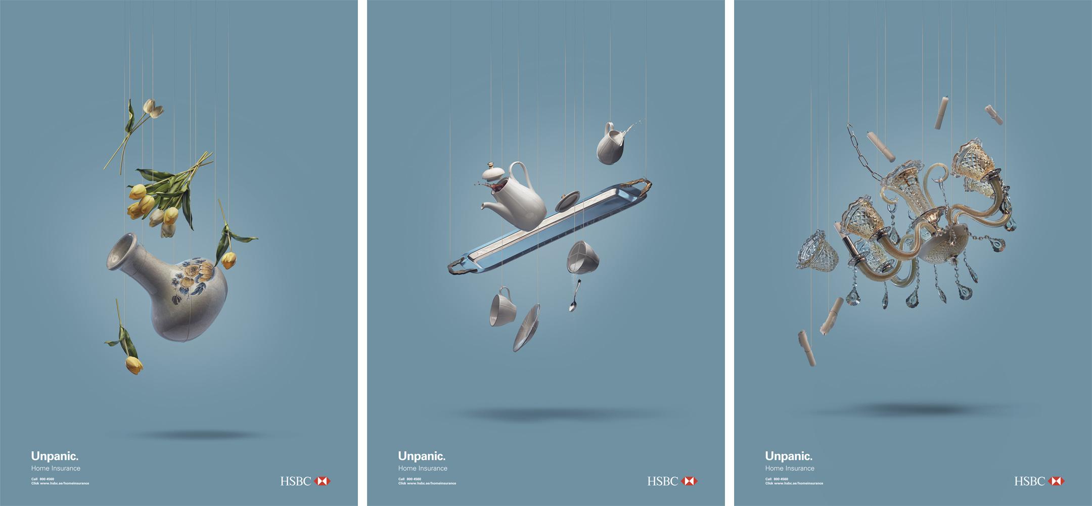 HSBC Unpanic Campaign