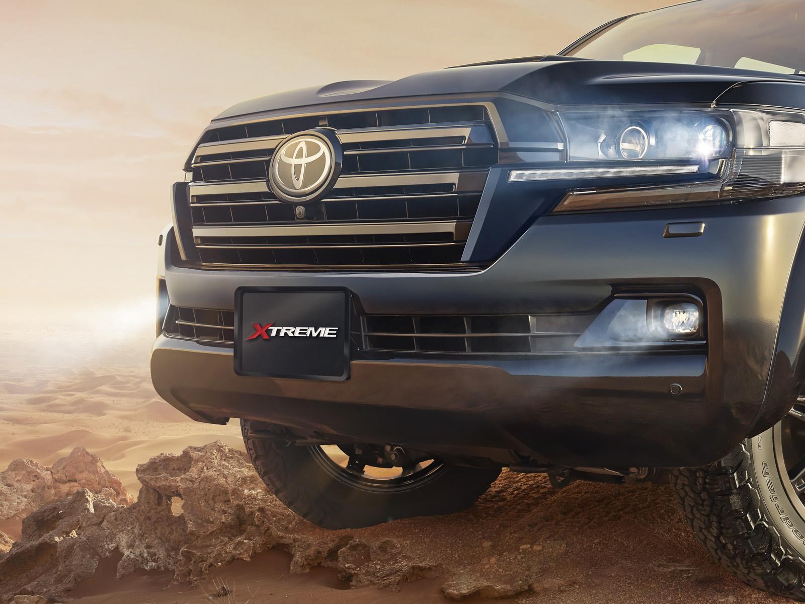 Toyota Xtreme Range detail 4