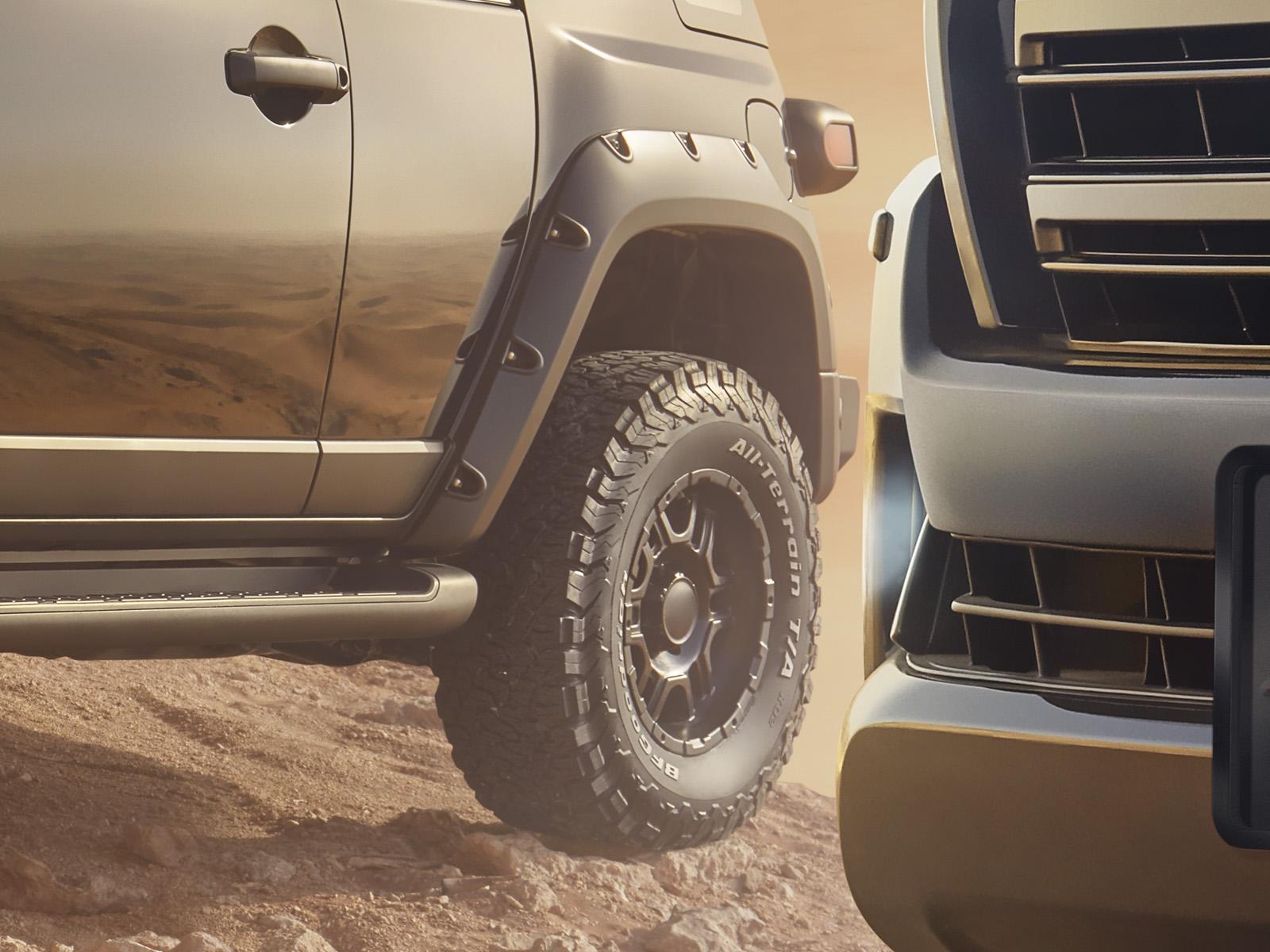 Toyota Xtreme Range detail 7