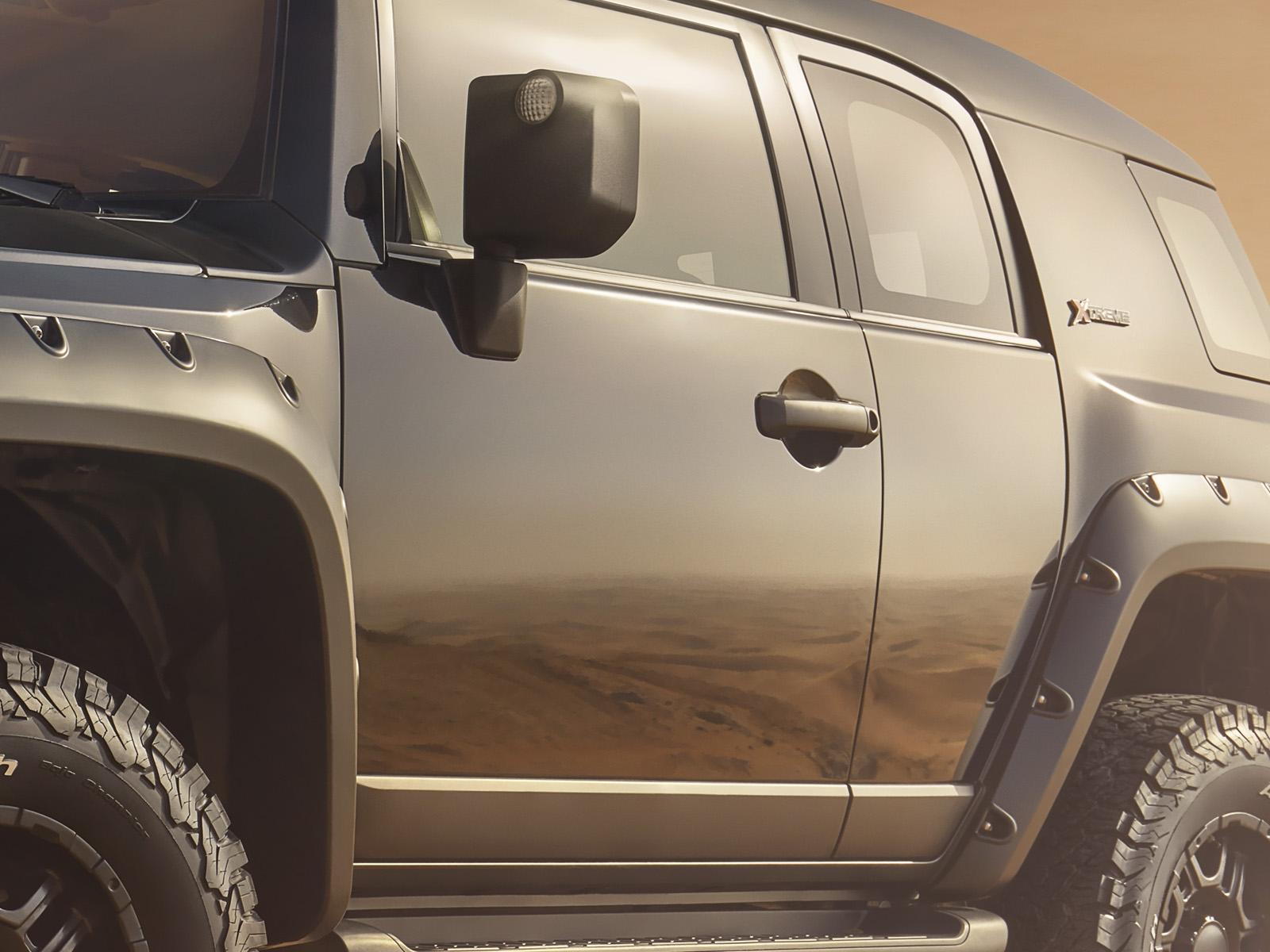 Toyota Xtreme Range detail 9
