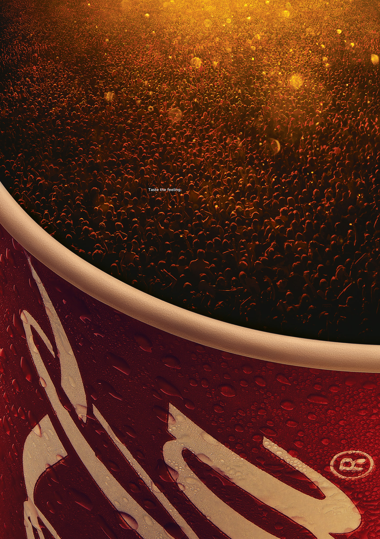 Coke Bubbles - Cup