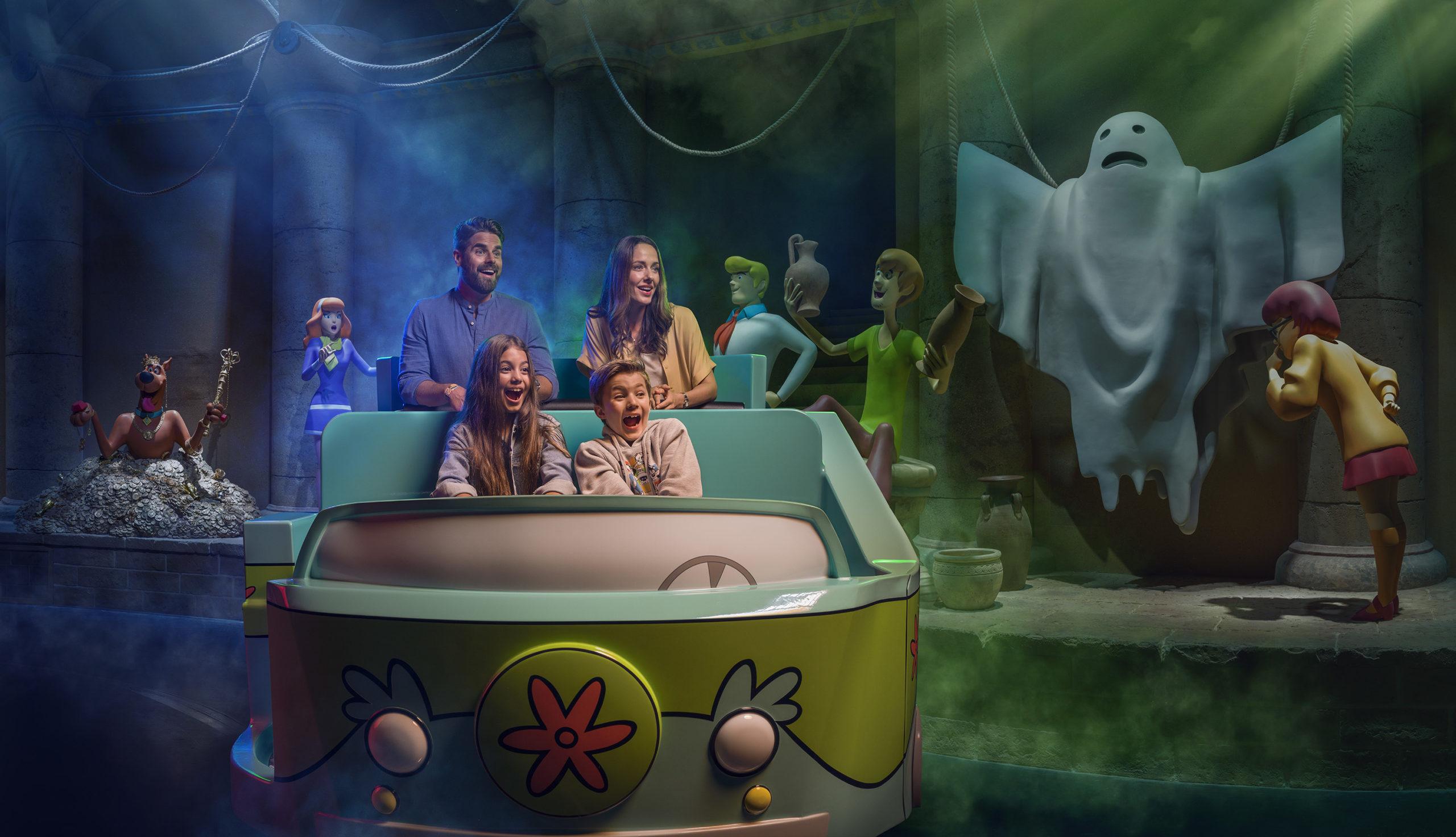 Scooby Doo Ride Warner Bros. Parks Abu Dhabi